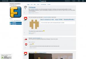screenshot of the Quattro theme