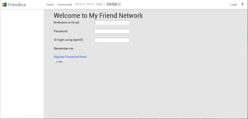 welcome to my friend network